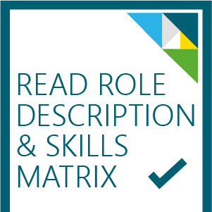 Role description and skills matrix button